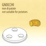 Nudelform Gnocchi für Nudelmaschine 2,5kg bis 4kg - 50490018 - KBS Gastrotechnik