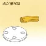 Nudelform Maccheroni für Nudelmaschine 2,5kg bis 4kg - 50490020 - KBS Gastrotechnik