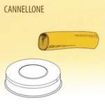 Nudelform Cannellone per ripieno für Nudelmaschine 2,5kg bis 4kg - 50490027 - KBS Gastrotechnik