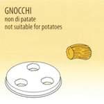 Nudelform Gnocchi für Nudelmaschine 8kg - 50490032 - KBS Gastrotechnik