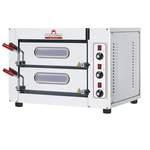 Pizzaofen City für 4+4 Pizzen bis ø25 cm elektro 6 kW  - 50521001 - KBS Gastrotechnik