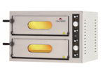 Pizzaofen Compact 6+6 für 6+6 Pizzen ø32cm elektro 13 kW  - 50521015 - KBS Gastrotechnik