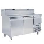 Vorbereitungstisch, Umluft, 2 Türen - 50800008 - KBS Gastrotechnik