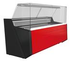 Freikühltheke Nika Lux 1003 mit Rückschiebescheiben  - 580103 - KBS Gastrotechnik