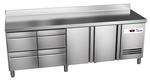 60221027-kuehltisch-4schubladen-2-tueren-mit-aufkanntung-kbs-gastrotechnik