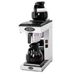 Filterkaffeemaschine mit 2 Glaskannen je 1,8 Liter  - 80710003 - KBS Gastrotechnik