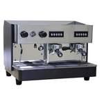 Siebträger-Espressomaschine 2 gruppig programmierbare Dosierung - 80722001 - KBS Gastrotechnik