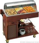 Buffets-Servierwagen Carrelino 3 - 23301030ND KBS-Gastrotechnik