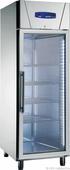 Edelstahlglastürkühlschrank KU 714 G 110715 KBS Gastrotechnik