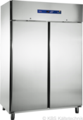 Edelstahlkühlschrank 2türig KU 1416 - 111421 KBS-Gastrotechnik