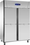 Edelstahltiefkühlschrank 4türig TKU 1414 (4türig) - 121416 KBS-Gastrotechnik