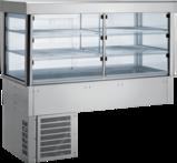 Einbaukühlvitrine Compact - gerades Glas KBS Gastrotechnik