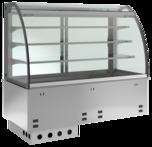 Einbaukühlvitrine Elegance Zentralkühlung - mit Kühlwanne KBS Gastrotechnik