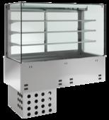 Einbaukühlvitrine Priums mit Kühlwanne - kundenseitig offen KBS Gastrotechnik