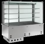 Einbaukühlvitrine Primus Zentralkühlung - mit Kühlwanne KBS Gastrotechnik
