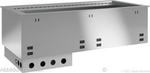 Einbaukühlwanne für Zentralkühlung E EKW GN 5/1 ohne Maschine 351151 KBS Gastrotechnik