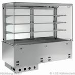 Einbauvitrine für Zentralkühlung mit Kühlwanne P-EKVW 3A GN 2/1 OP ohne Maschine - 385121 KBS-Gastrotechnik