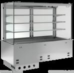 Einbauvitrine für Zentralkühlung mit Kühlwanne P EKVW 3A GN 5/1 OP ohne Maschine 385151 KBS Gastrotechnik