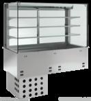 Einbauvitrine mit Kühlwanne P EKVW 3A GN 2/1 380120 KBS Gastrotechnik