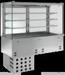 Einbauvitrine mit Kühlwanne-P EKVW 3A GN-3/1 OP 384130 KBS Gastrotechnik