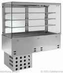 Einbauvitrine mit Kühlwanne P-EKVW 3A GN 5/1 OP - 384150 KBS-Gastrotechnik