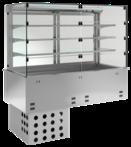 Einbaukühlvitrine mit Maschine KBS Gastrotechnik