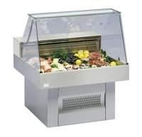 Fischverkaufstheke Oceanus 100 C - 23113100 KBS-Gastrotechnik