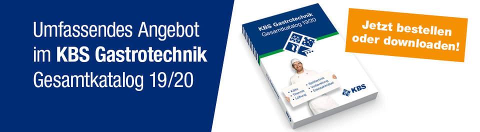 KBS Gastrotechnik Fachhandelskatalog