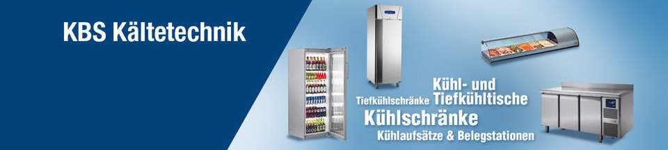 Kühl- und Tiefkühltische, Tiefkühlschränke, Kühlschränke, Kühlaufsätze & Belegstationen