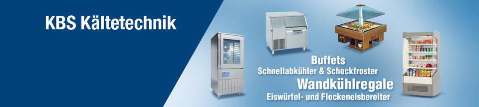 Buffets, Schnellabkühler & Schockfroster, Wandkühlregale, Eiswürfel- und Flockeneisbereiter