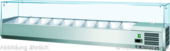 Kühlaufsatz RX 1400  Glas  330140 KBS Gastrotechnik