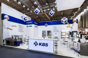 Impressionen vom KBS Gastrotechnik Messestand auf der Internorga 2018