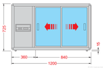 Orizont-200 Q-und self-Skizze-bedienerseitig