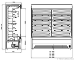 Skizze Bali  Pro mit Maschine KBS Gastrotechnik