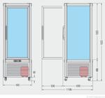 Skizze Prisma 400 TBV PF 23201412 KBS Gastrotechnik