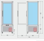 Skizze Prisma 400 TN PF 23201400 KBS Gastrotechnik