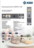 Steuereinheit Touchscreen Kombidämpfer Compact Line KBS Gastrotechnik
