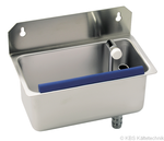 Zubehör Anbauportionierspüle CNS mit regelbaren Wasserdurchlauf 814522 KBS Gastrotechnik